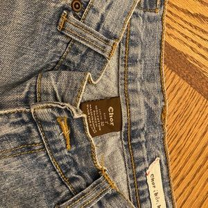 Junior's Chor jeans, size 7